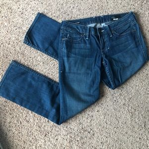 William Rast Capri flared and cropped jeans, sz 27
